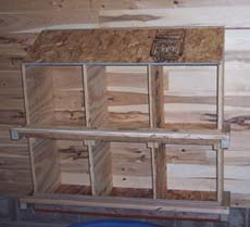 chicken runs and coops nest boxes