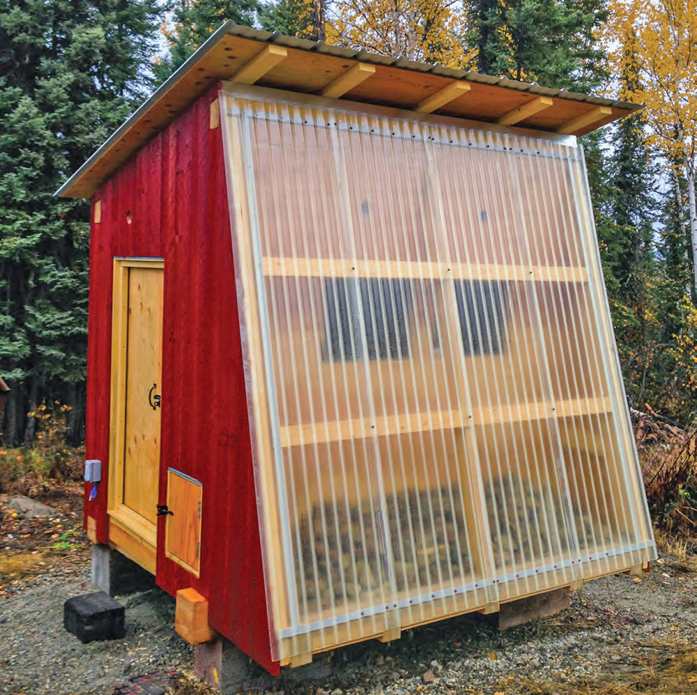 Poultry Coop Inspiration 10/1—The Alaskan Efficiency