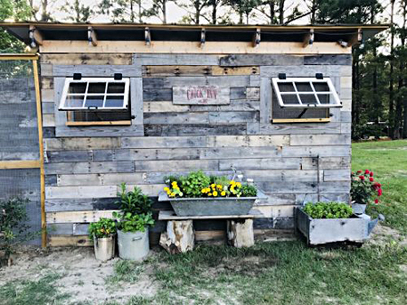 The Chick Inn at White Feather Farm: Coolest Coops Voters' Choice Winner