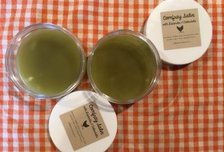 Using Comfrey Salve for Injured Poultry