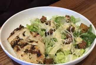 Chicken Caesar Salad – With Classic or Pesto Dressing Plus Homemade Croutons