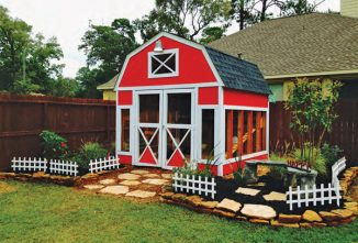 Two Chicken Coop Sheds We Love