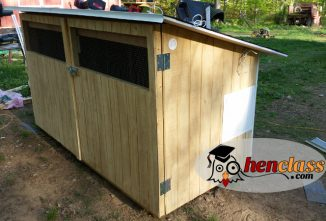 Free Chicken Coop Plan: An Easy 3×7 Coop