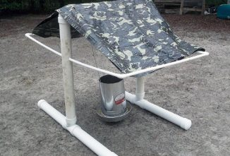 Stay-Dry Chicken Feeder: PVC to the Rescue!